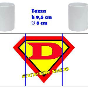 Tazza Mug - Festa del Papà Super Dad
