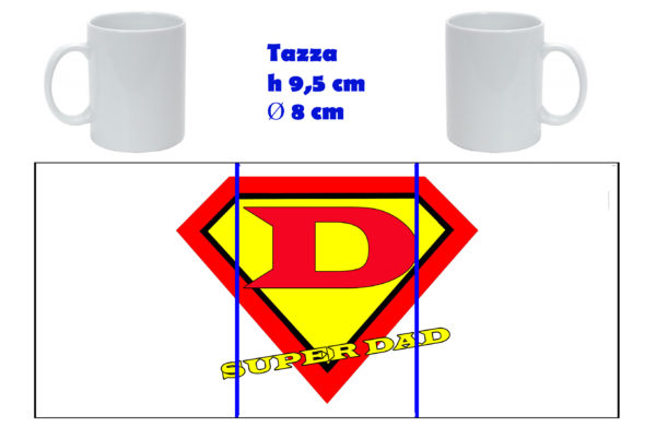 Tazza Mug - Festa del Papà Super Dad
