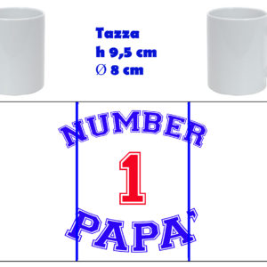 Tazza Mug - Festa del Papà Number one dad