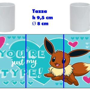 Tazza Mug - Pokemon San Valentino - Eevee