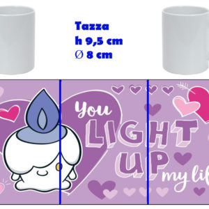 Tazza Mug - Pokemon San Valentino - Litwick