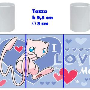 Tazza Mug - Pokemon San Valentino - Mew