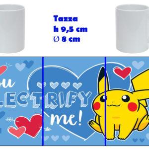 Tazza Mug - Pokemon San Valentino - Pikachu