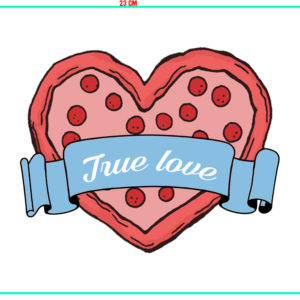 Mouse Pad - San Valentino Pizza True Love