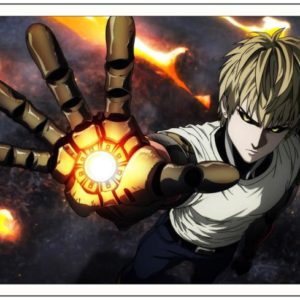 POSTER ONE PUNCH MAN GENOS