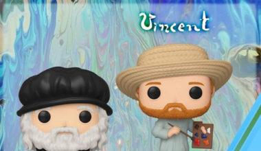 Funko pop ARTE – Leonardo Da Vinci & Van Gogh