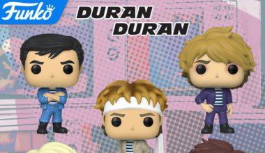 Funko pop Duran Duran