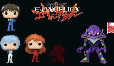 Funko pop Neon Genesis Evangelion
